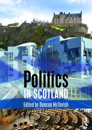 Politics in Scotland book cover