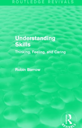 Understanding Skills: Thinking, Feeling, and Caring book cover