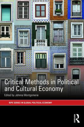 Critical Methods in Political and Cultural Economy book cover