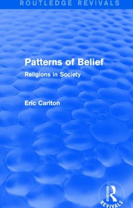Patterns of Belief: Religions in Society, 1st Edition (Paperback) book cover