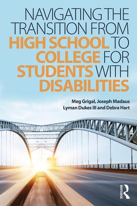 Navigating the Transition from High School to College for Students with Disabilities (Paperback) book cover