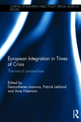 European Integration in Times of Crisis: Theoretical perspectives book cover
