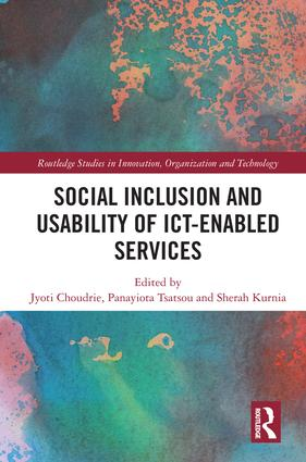 Social Inclusion and Usability of ICT-enabled Services.: 1st Edition (Hardback) book cover