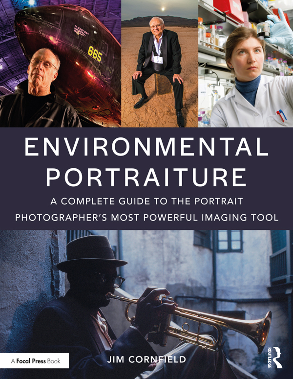 Environmental Portraiture: A Complete Guide to the Portrait Photographer's Most Powerful Imaging Tool book cover