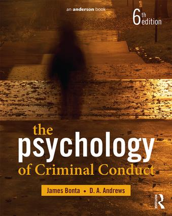 The Psychology of Criminal Conduct (Paperback) book cover