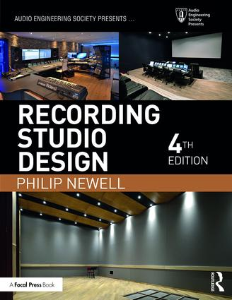 Recording Studio Design: 4th Edition (Paperback) book cover