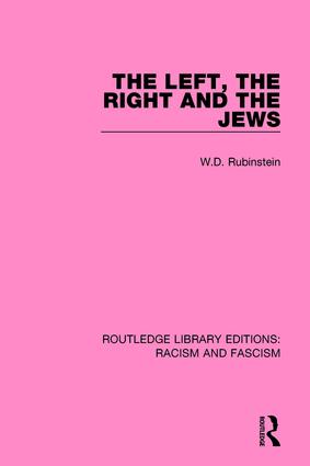 The Left, the Right and the Jews book cover