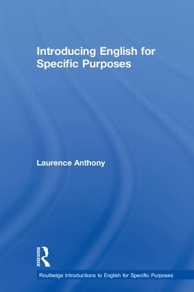 Introducing English for Specific Purposes book cover