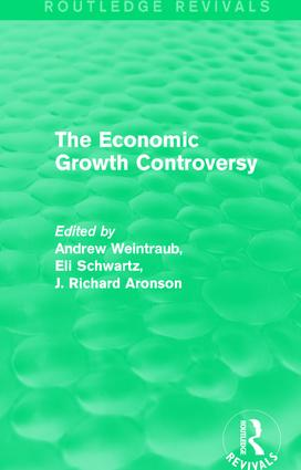 The Economic Growth Controversy book cover