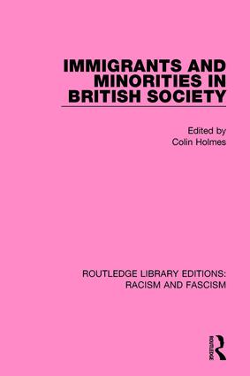 Immigrants and Minorities in British Society book cover