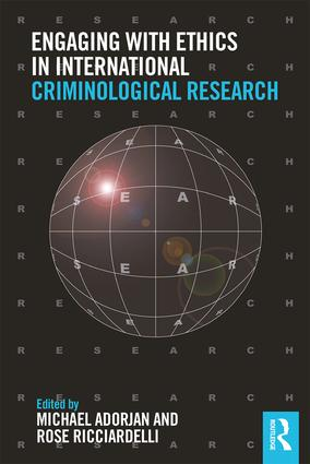 Engaging with Ethics in International Criminological Research (Paperback) book cover