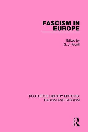 Fascism in Europe book cover