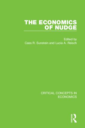 The Economics of Nudge book cover