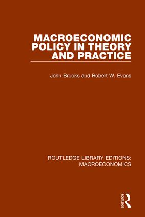 Macroeconomic Policy book cover