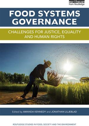 Food Systems Governance: Challenges for justice, equality and human rights book cover