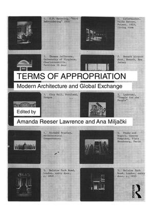 Terms of Appropriation: Modern Architecture and Global Exchange book cover