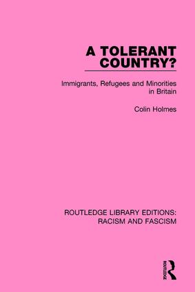 A Tolerant Country?: Immigrants, Refugees and Minorities book cover