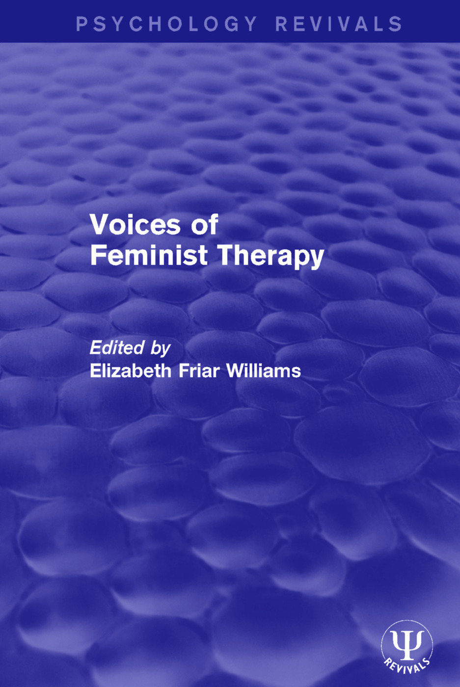 Voices of Feminist Therapy: 1st Edition (Paperback) book cover
