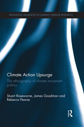 Climate Action Upsurge: The Ethnography of Climate Movement Politics book cover
