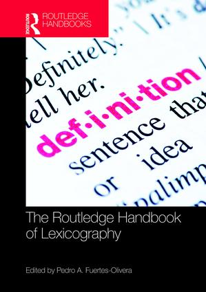 The Routledge Handbook of Lexicography: 1st Edition (Hardback) book cover