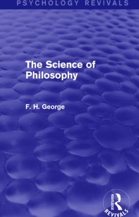 The Science of Philosophy