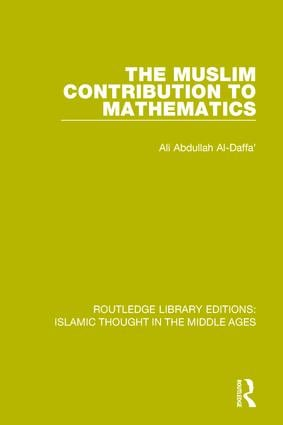 The Muslim Contribution to Mathematics book cover