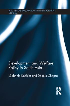 Development and Welfare Policy in South Asia: 1st Edition (e-Book) book cover