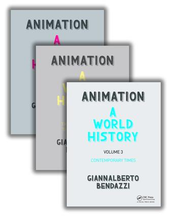 Animation: A World History: The Complete Set book cover