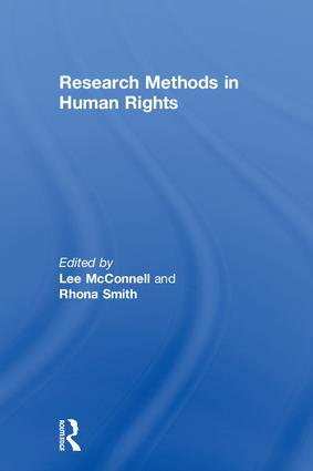 Research Methods in Human Rights book cover
