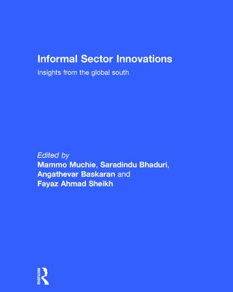 Informal Sector Innovations: Insights from the Global South (Hardback) book cover