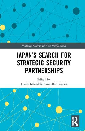 Japan's Search for Strategic Security Partnerships (Hardback) book cover