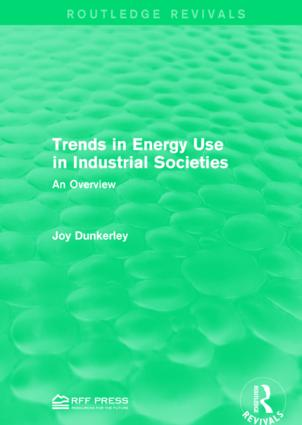 Trends in Energy Use in Industrial Societies: An Overview book cover