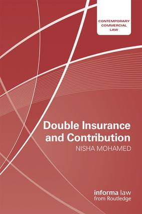 Double Insurance and Contribution book cover