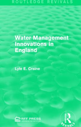 Water Management Innovations in England book cover