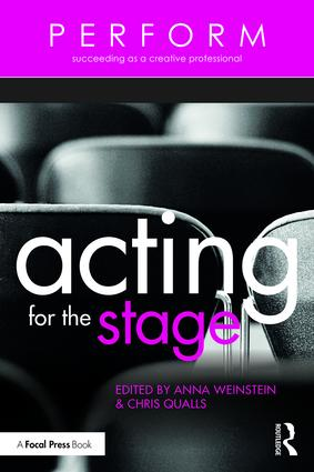 Acting for the Stage (Paperback) book cover