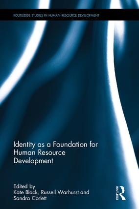 Identity as a Foundation for Human Resource Development: 1st Edition (Hardback) book cover
