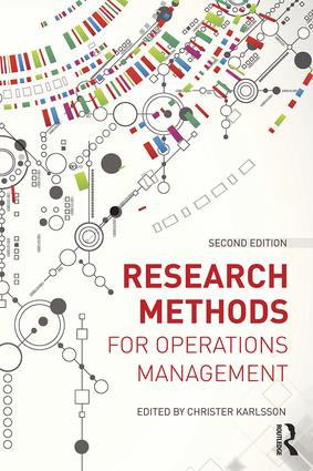 Research Methods for Operations Management: 2nd Edition (Paperback) book cover