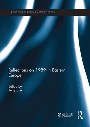 Reflections on 1989 in Eastern Europe book cover