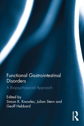 Functional Gastrointestinal Disorders: A biopsychosocial approach book cover