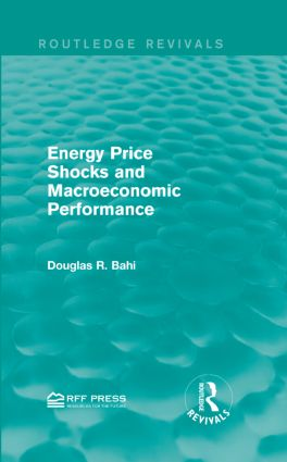 Energy Price Shocks and Macroeconomic Performance book cover