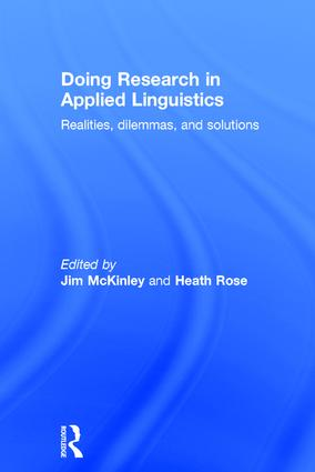 Doing Research in Applied Linguistics