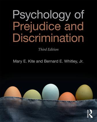 Psychology of Prejudice and Discrimination: 3rd Edition book cover