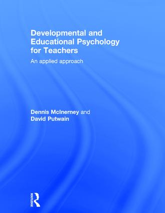 Developmental and Educational Psychology for Teachers: An applied approach, 2nd Edition (Hardback) book cover