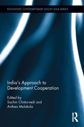 India's Approach to Development Cooperation: 1st Edition (Hardback) book cover
