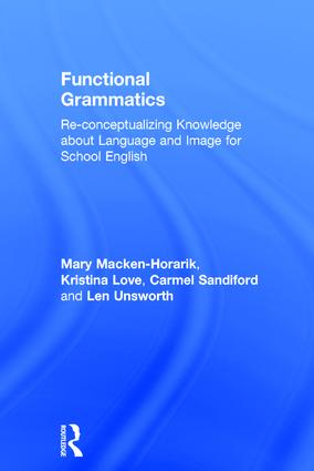 Functional Grammatics: Re-conceptualizing Knowledge about Language and Image for School English book cover