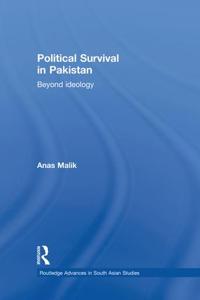Political Survival in Pakistan: Beyond Ideology, 1st Edition (Paperback) book cover