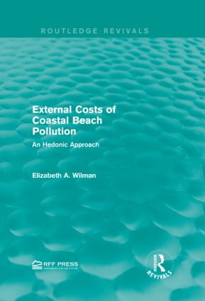 External Costs of Coastal Beach Pollution: An Hedonic Approach book cover