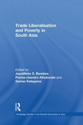 Trade Liberalisation and Poverty in South Asia book cover