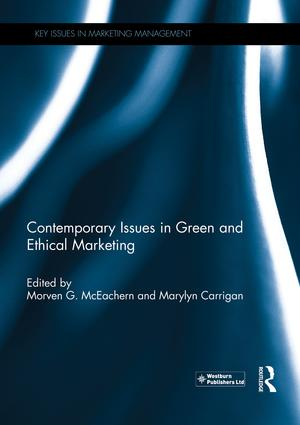 Contemporary Issues in Green and Ethical Marketing book cover