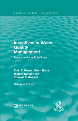 Incentives in Water Quality Management: France and the Ruhr Area book cover